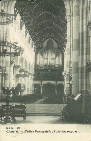 Châtelet orgue  Schyven