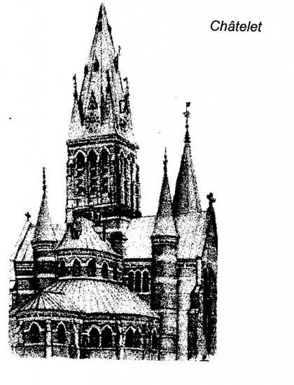 Dessin de l'église