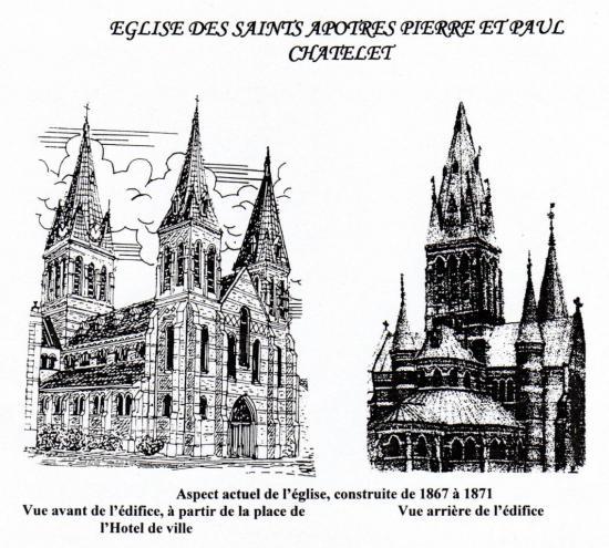 Dessins Sts-Pierre et Paul