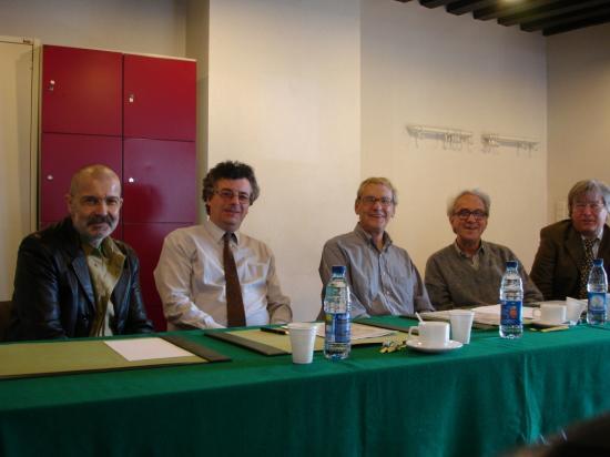 Jury au conservatoire de Mons