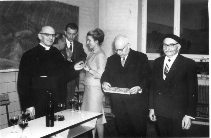 M. Guillaume avec C. Ansiaux