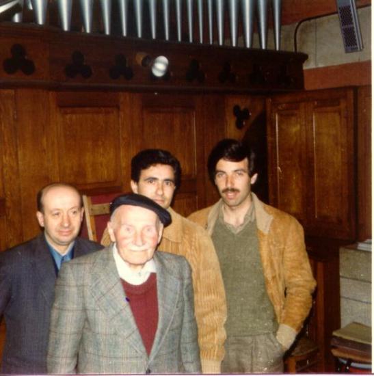 M. Guillaume avec J. Charbonnel