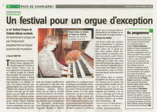 Orgue d'exception