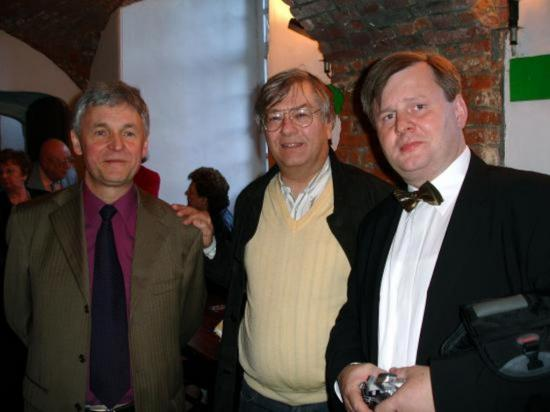 Zbigniew, Thierry et Roman